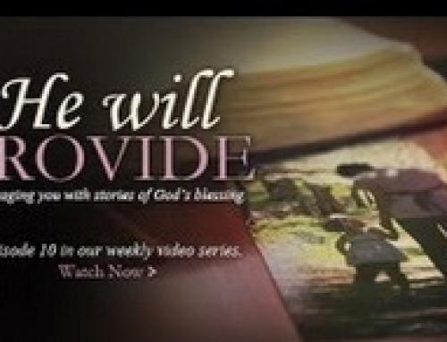 Homeschooling – He Will Provide